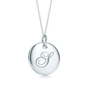 1ea80d9be0d1 Tiffany   Co. Jewelry - Tiffany Notes Alphabet disc charm pendant S